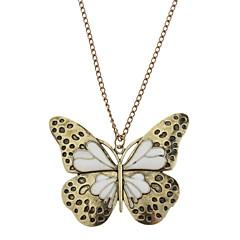 1st Vintage (fjäril hänge) Bronze Copper hängande halsband