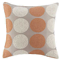 """18"""" Squard Fashion Dot Textured Chenille  Polyester Decorative Pillow Cover"""