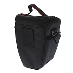 キヤノン/ニコン/ペンタックスデジタル一眼レフ用のレインカバー付きEIRMAIナイロントライアングルショルダーバッグ