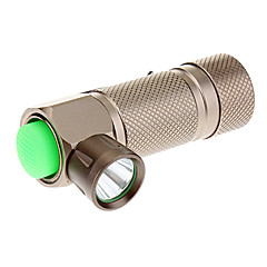 LED Flashlight trustfire Z1 3-Mode Cree XR-E Q5 avec l'agrafe (240LM, 1x16340, Brown)
