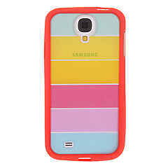 Värikäs Rainbow TPU Hybrid suojakuori Samsung Galaxy S4