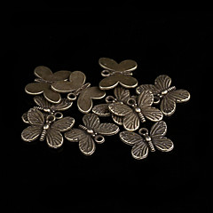 Cute Bowknot Bronze Alloy Charms 20 Pcs/Bag (Bronze)