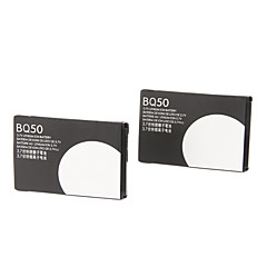 BQ50 Batteria per Motorola V465/W175/W230a/W375 (3.7V, 910mAh, 2pcs)