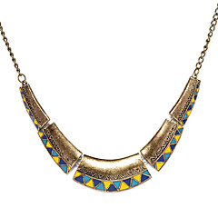 Tappning Alloy Triangle Choker Collier