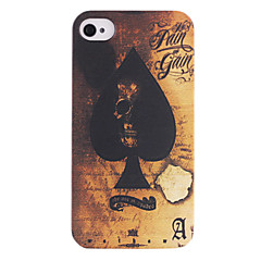 Spades Ace ABS Back Case for iPhone 4/4S