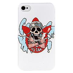 Handsome Smoke Skull Back Case for iPhone 4/4S