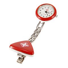 Unisex Cross Pattern Nurse Pocket Watch (Assorted Colors)