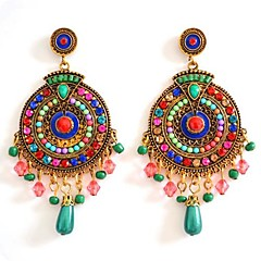 Hot ell Vintage Gold Plated Multicolor Himalaya tyle Drop Earring