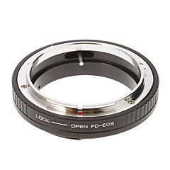 FD-EOS Camera Lens Adapter Ring (sort)