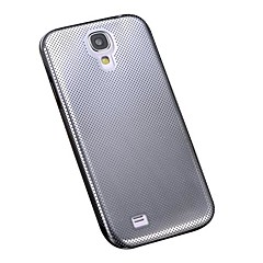 Aluminium Tunna Mesh Hard Steel Back Cover för Samsung Galaxy S4 I9500