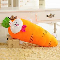 υπέροχο σχήμα γελοιογραφία καρότο χαμογελώντας μοτίβο κουνέλι νεωτερισμό μαξιλάρι