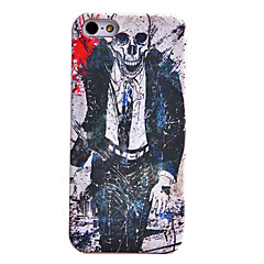 Horrible Skull Design Pattern Back Case for iPhone 5/5S