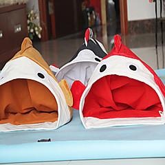 oceano stile pesce letto bag Cutie gattino a pelo per gli animali domestici i cani (colori assortiti)