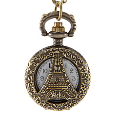 Dámské Módní hodinky Křemenný Slitina Kapela Eiffelova věž Brązowy Značka-