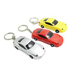 Porte-clés en forme de 1PCS de voiture avec LED Light & Voix (couleur aléatoire)
