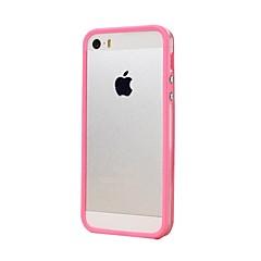 TPU translucidez Border Bumper para iPhone 5/5S