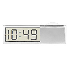 I-bil sugkopp Digital Clock