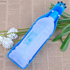 Cane Ciotole & Bottiglie Animali domestici Ciotole e alimentazione Portatile Rosso Blu
