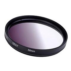 58mm progressive filtre gris Objectif