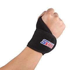 Podpora ruky a zápěstí Αθλητικά Υποστήριξη Συμπίεση Προστατευτικό Ajustabil Fitness Μπέιζμπολ Κατασκήνωση & Πεζοπορία Τρέξιμο μαύρο fade