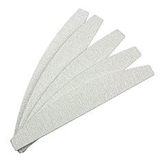 5PCS Gray Arc-shaped Emery Nail Art Files
