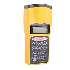 """CP3007 Handheld 1.9 """"LCD Ultraääni Elektroninen etäisyysmittari-Musta + Keltainen (9V paristo ei sisälly)"""