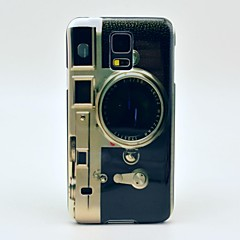 Famous Camera Pattern Hard Case Cover for Samsung Galaxy S5 I9600