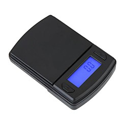 Mini LCD Digital Pocket smycken Guld Diamond Scale Gram