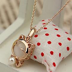 Cute Lucky Cat Pendant Necklace