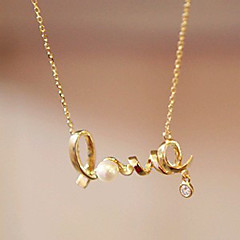 Sweet Love-Anhänger-Halskette