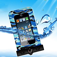 Universal Vattentät Underwater Påse med armband och kompass (Random Color) för Samsung S2 I9100 (Blandade färg)