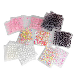 40PCS Mixed-Style 3D Design Nail Art Stickers