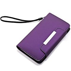 PU Leather Case Full Body para Samsung Galaxy i9600 S5 (cores sortidas)