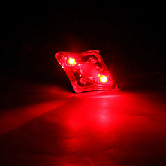 FJQXZ USB Sateenkestävä Red Tail Varoitus Safety Light