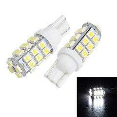 Merdia T10 28 SMD 1210 LED pour voiture White Light License Plate Lampe / lampe de lecture (la paire)