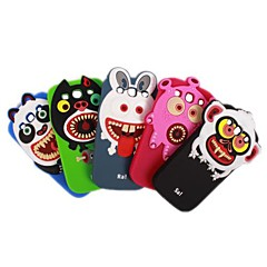 Vampiyan Kids Gel Soft tilbake tilfelle dekke for Samsung Galaxy S3 I9300 (blå / grønn / svart / grå / Rose)
