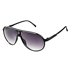 Unisex Fashion Black-Frame Sunglasses