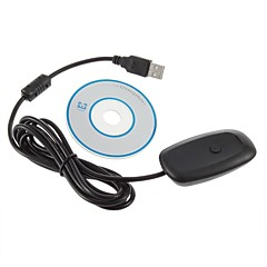 PC Wireless Gaming Receiver voor de XBOX 360 controller (zwart)