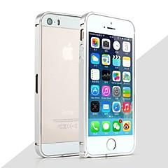 Για Θήκη iPhone 5 Ανθεκτική σε πτώσεις tok Αντικραδασμική tok Μονόχρωμη Σκληρή Μεταλλικό iPhone SE/5s/5
