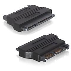 "2.5 ""W 22 pin żeński SATA 1,8"" w Micro SATA 16 pin Male Adapter konwerter do 3.3V twardy dysk SSD"