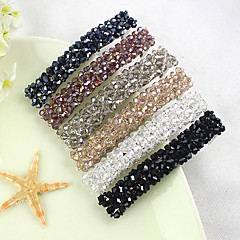 Crystal Hair Bands Hairpin Side-knotted Clip