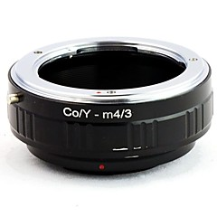 CONTAX CY objectif de Panasonic OLYMPUS M4 / 3 Mount Adapter