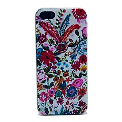 Colorful Flowers Pattern Hard Case for iPhone 5/5S