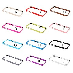 Voor iPhone 5 hoesje Armband hoesje Bumper hoesje Effen kleur Hard Metaal iPhone SE/5s/5