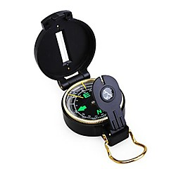 Marcha Militar Lensatic Compass-Black