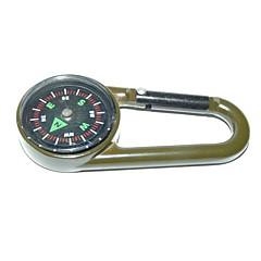 Outdoor Portable Zinc Alloy  Compass - Army Green
