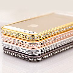 Elegante Decorato con Diamante Frame per iPhone 4/4S (colori assortiti)