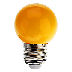 0.5W E26/E27 LED Globe Bulbs G45 7 Dip LED 50 lm Cool White / Blue / Yellow / Green / Red Decorative AC 220-240 V