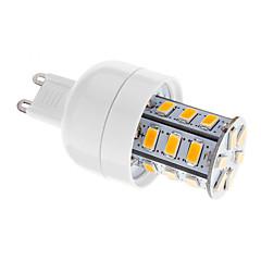 5W G9 LED-kolbepærer T 24 SMD 5730 80-350 lm Varm hvid Justérbar lysstyrke Vekselstrøm 220-240 V