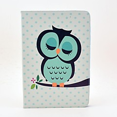 Sleeping Owl Pattern Full Body Case with Stand for Samsung Galaxy Tab 2 10.1 P5100/P5110